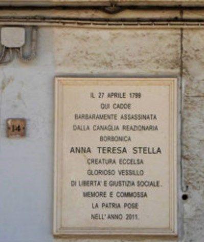 Read more: Commemorazione 220° anniversario uccisione Teresa Stella Goffredo