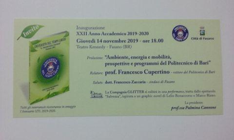 Read more: Inaugurazione Anno Accademico 2019/20