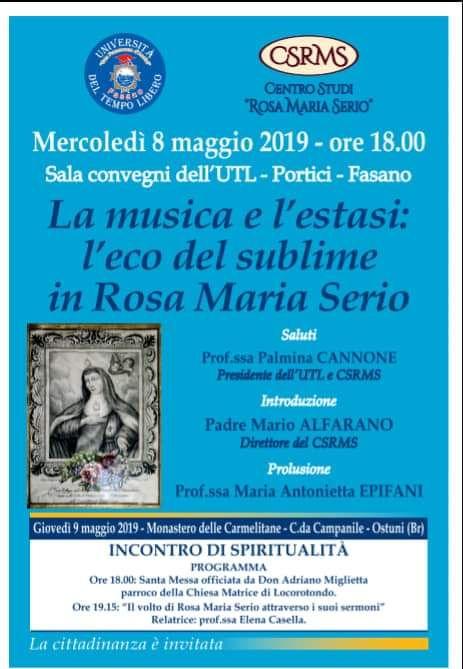 Read more: La musica e l'esasi, l'eco sublime in Rosa Maria Serio