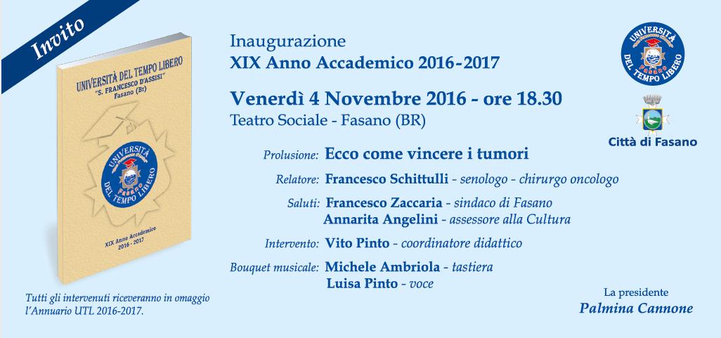Read more: Inaugurazione Anno Accademico 2016/17