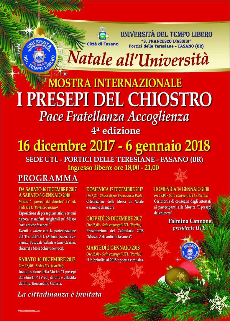Read more: Programma natalizio manifestazione