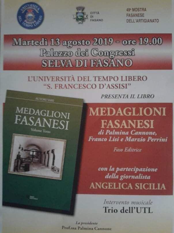 Read more: Presentazione del libro MEDAGLIONI FASANESI