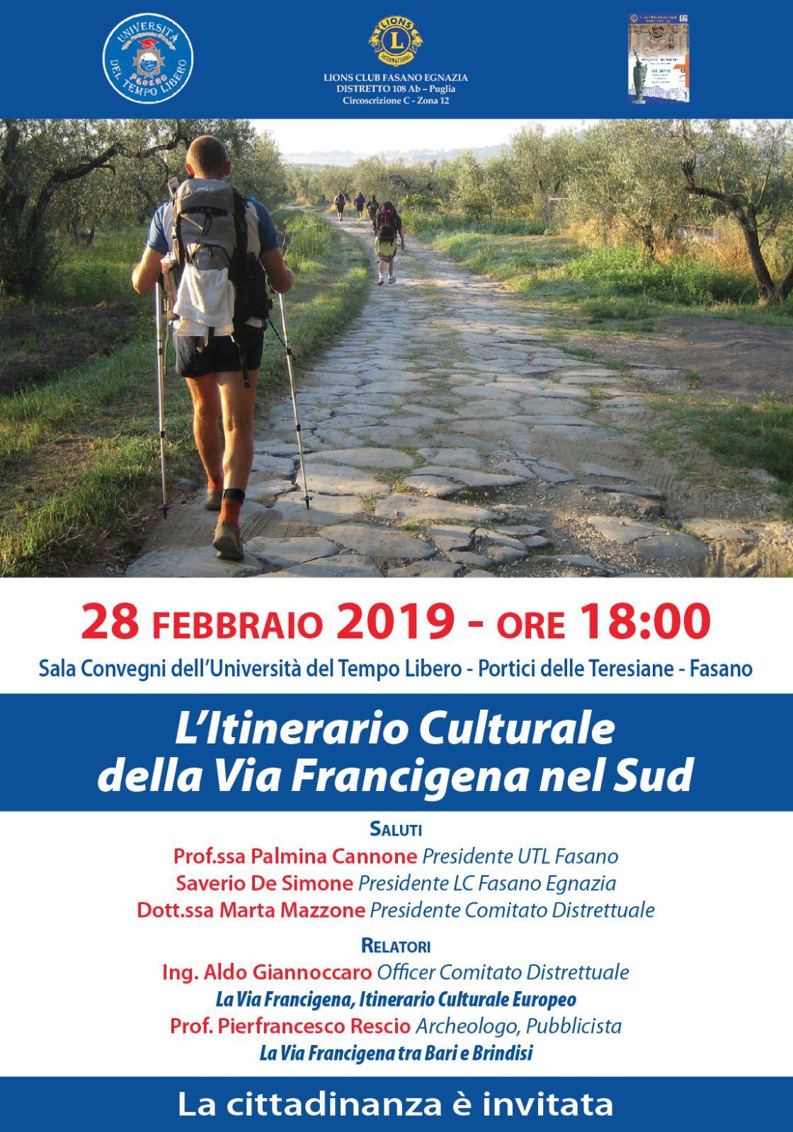 Read more: L'itinerario Culturale della via Francigena nel Sud
