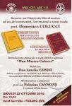 Leggi tutto: Incontro con l'autore dei libri di musica Prof. Domenico Colucci - giovedi 22 ottobre 2015