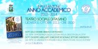Leggi tutto: Inaugurazione anno accademico 2013/14