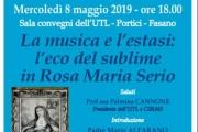 La musica e l'esasi, l'eco sublime in Rosa Maria Serio