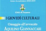 Omaggio all'avvocato Aquilino Giannaccari