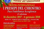 Programma natalizio manifestazione